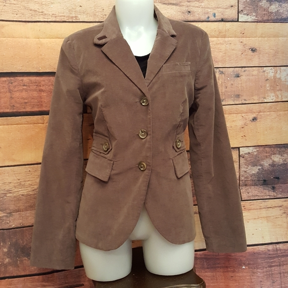 Blazer patch elbow velvet jacket khaki rider style
